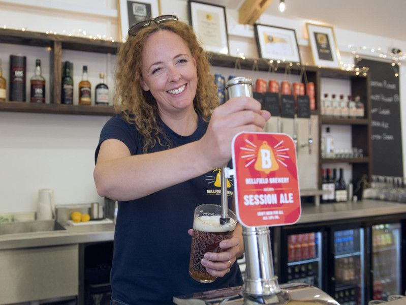 Bellfield Brewery Tap Room: Edinburgh's Latest Craft Beer Tap Room Opens Its Doors photo