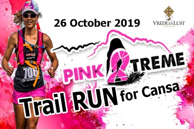 Take Part In The Pink Extreme Trail Run At Vrede en Lust photo