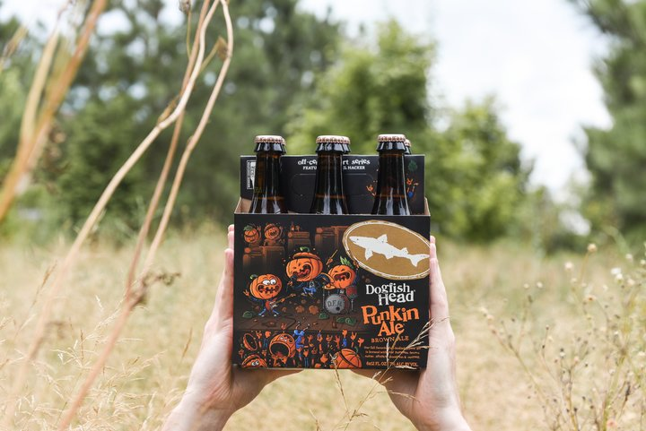 Dogfish Head Craft Brewery Releases Punkin Ale With Artwork By Michael Hacker photo