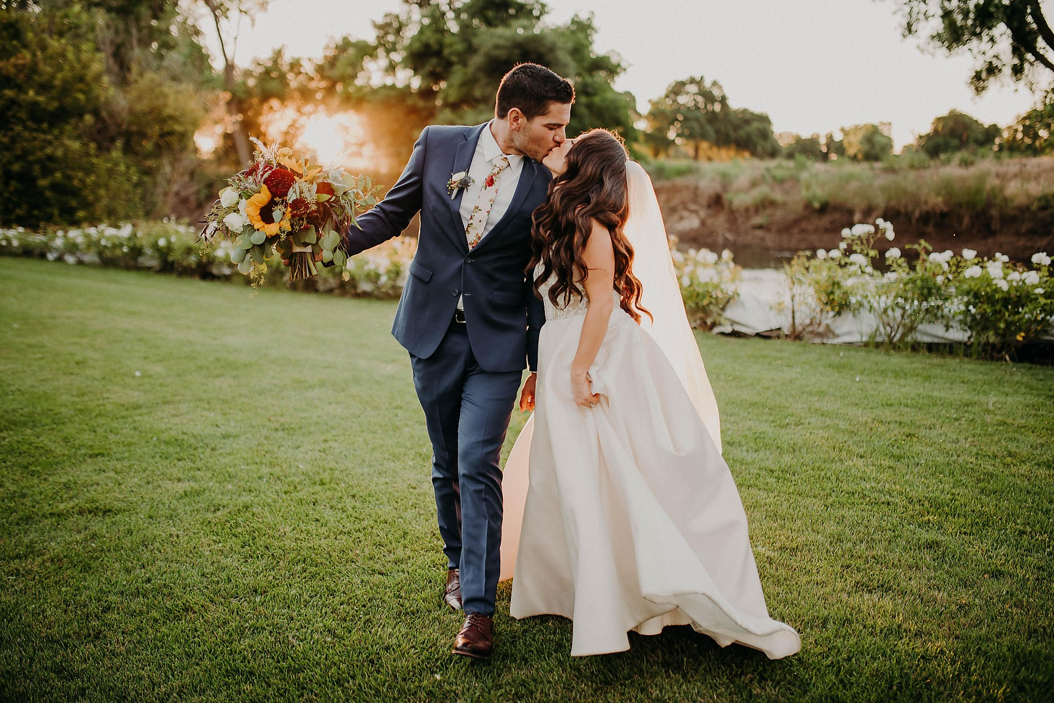 Sponsored Content: Lush Vineyards Provide Perfect Wedding Backdrop photo