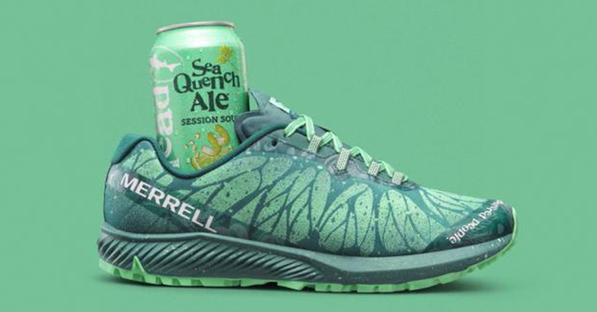 Dogfish Head's Seaquench Ale Is Now A Shoe photo