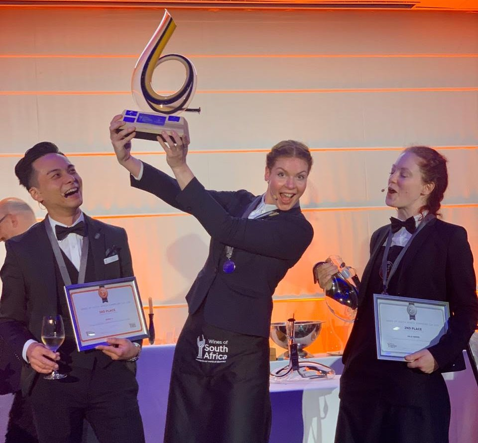 Richelle Van Gemert Wins Wines Of South Africa Sommelier Cup 2019 photo