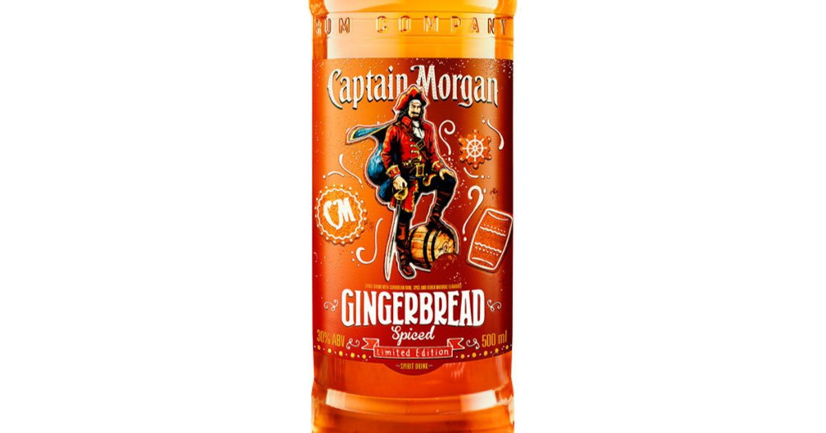 Asda Is Now Selling Limited Edition Captain Morgan Gingerbread Spiced Rum photo