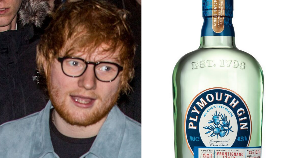 Ed Sheeran's Pub Is Using Plymouth Gin For Its 'cannabis' Beer photo