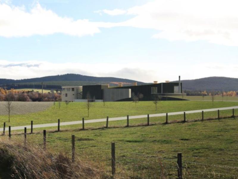 Speymalt Whisky Distillery Complex, Craggan, Scotland, Uk photo