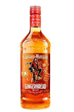 Diageo's Captain Morgan Gingerbread Spiced Rum photo