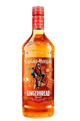 Diageo's Captain Morgan Gingerbread Spiced Rum photo