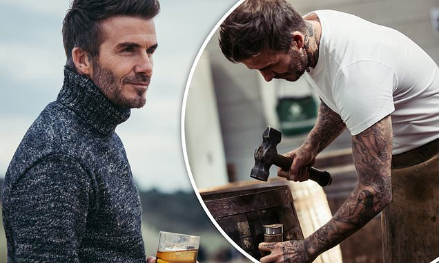 David Beckham Visits The Scottish Home Of His Whisky Brand Haig Club photo