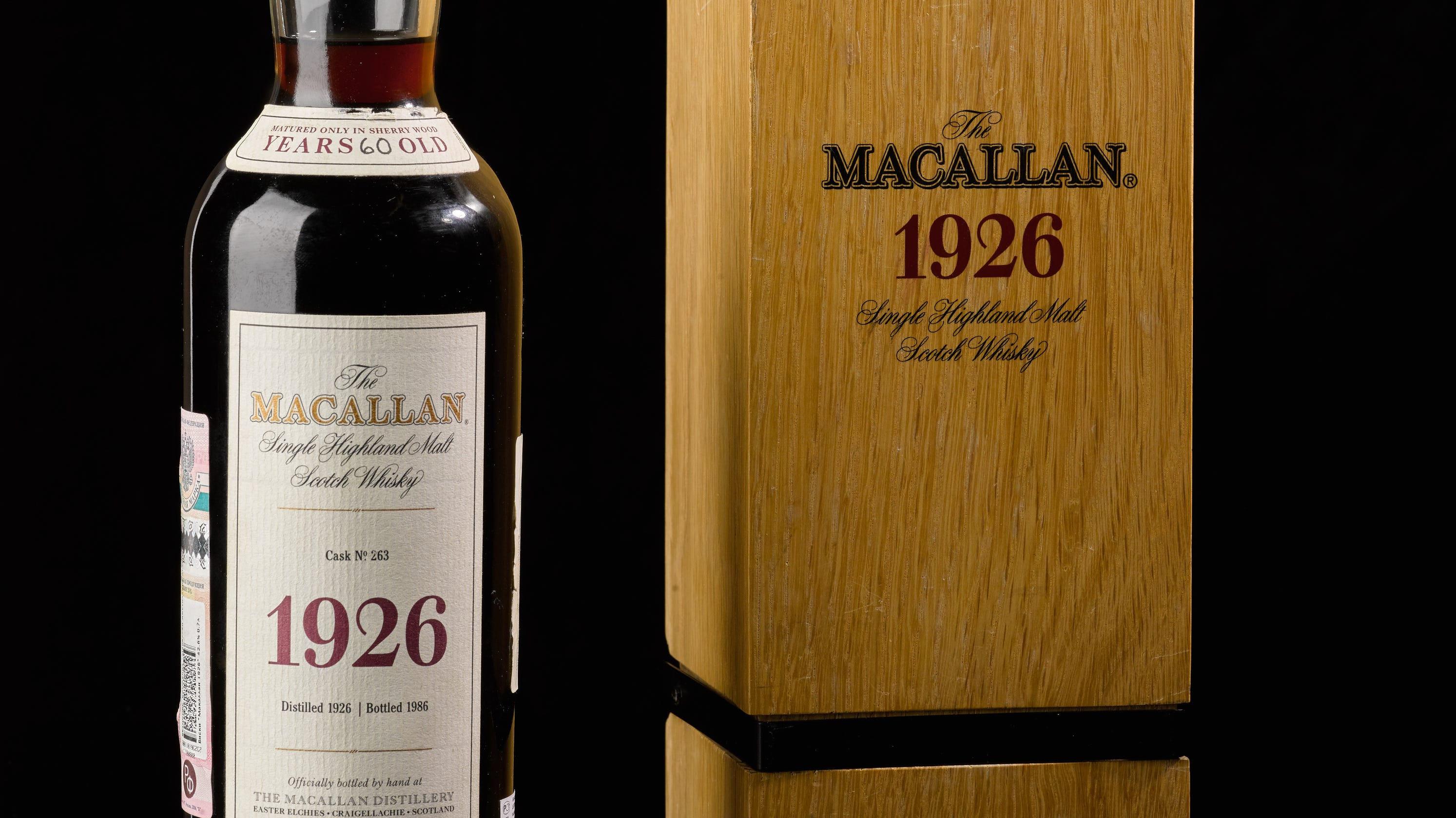 This Bottle Of Rare Whisky Sold For Nearly $1.9 Million, Shattering Auction Record photo