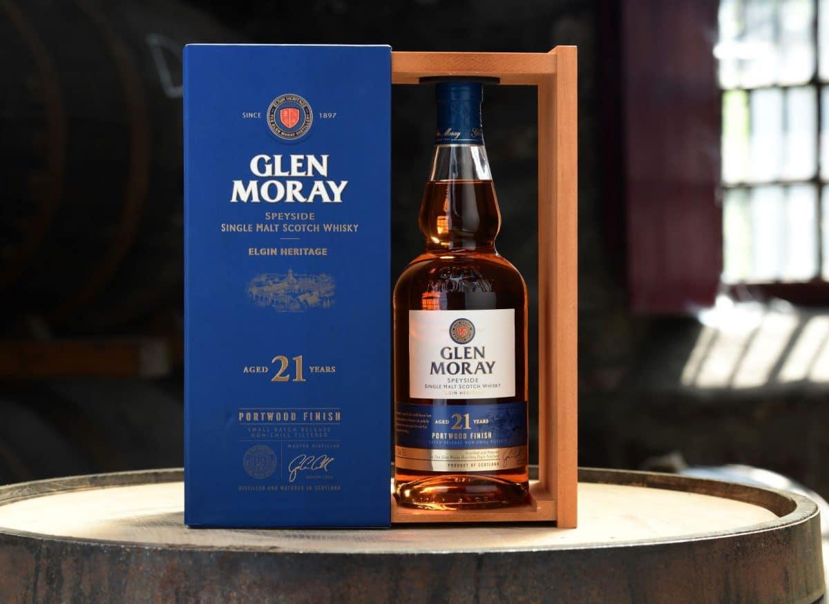 Glen Moray Announces 21 Year-old Portwood Finish Single Malt photo