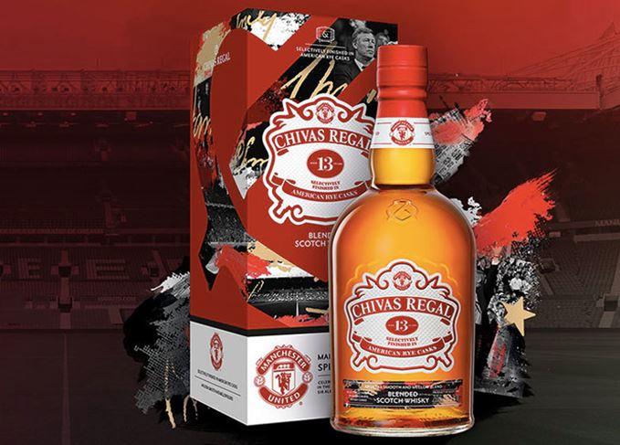 Chivas Creates Manchester United Whisky photo