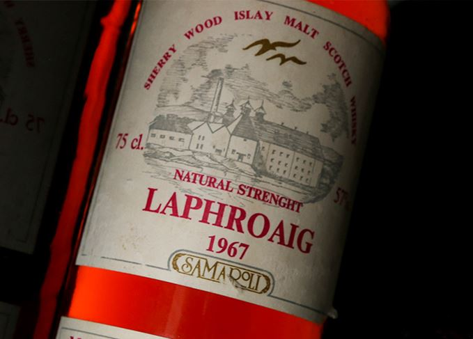 Legendary Bottlings: Laphroaig 1967 Samaroli photo