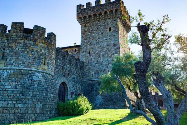 Wine Tasting In A Castle, The Perfect Napa Experience photo