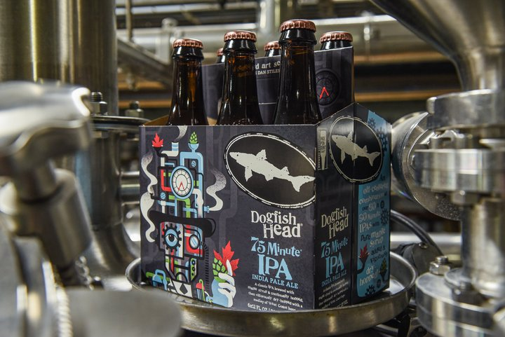 Dogfish Head Announces Artist Collaboration For 2019-2020 Off-centered Art Series, Return Of 75 Minute Ipa photo
