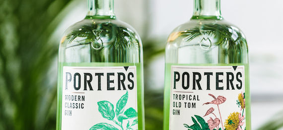 Porter's Gin Gets New Uk Distribution Deal photo