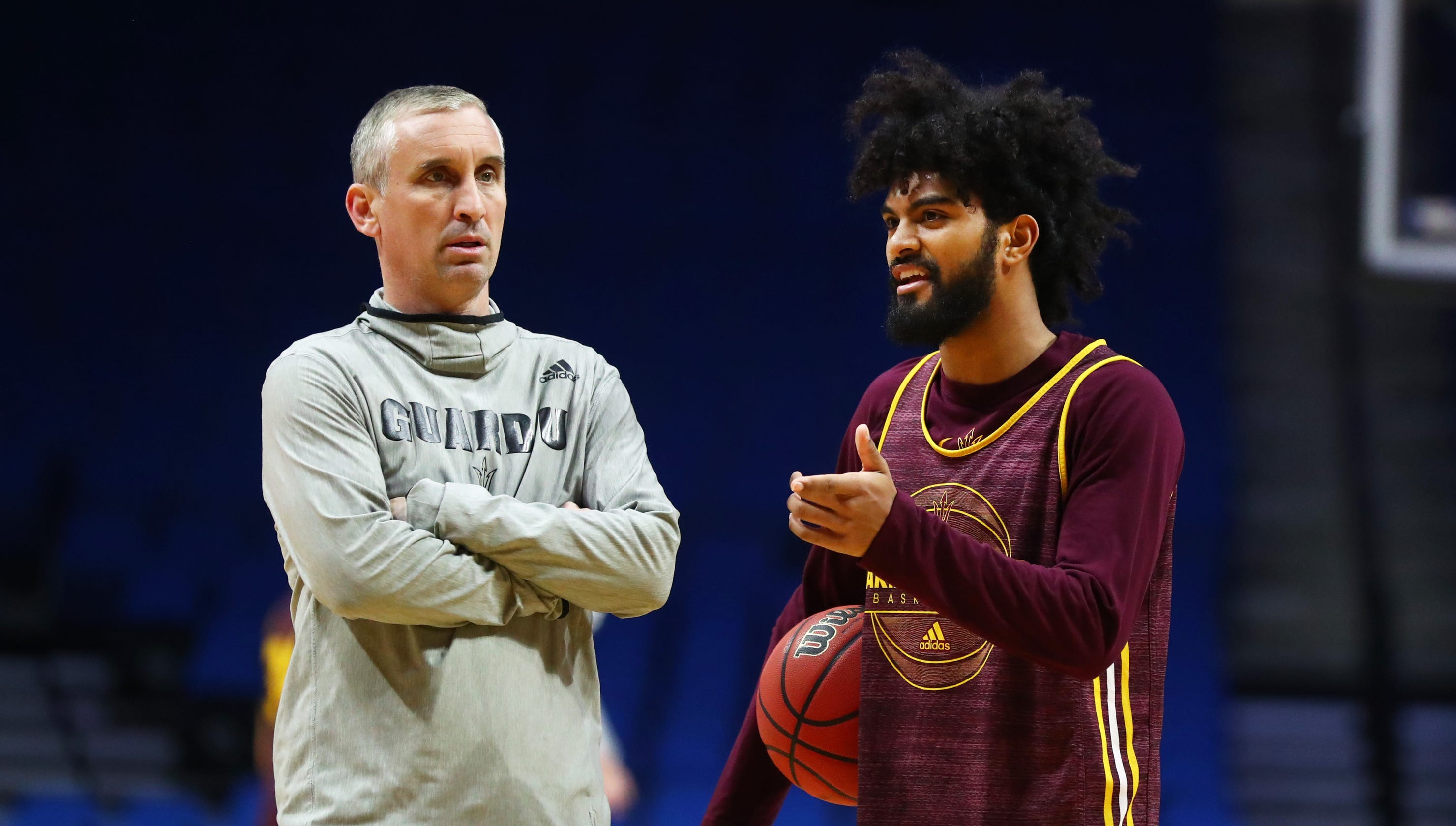 Asu Basketball Hopes Ride On The Health Of Remy Martin, Rob Edwards photo