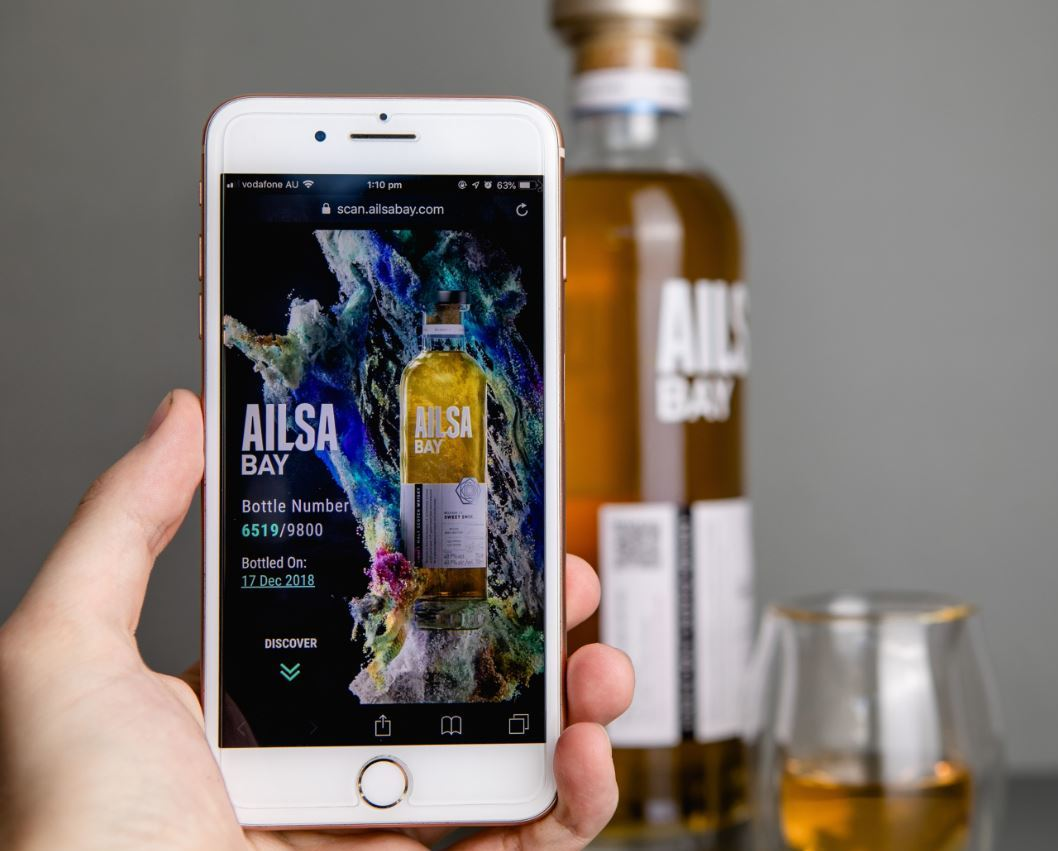 Ailsa Bay Partners With Arc-net On Blockchain Whisky App photo