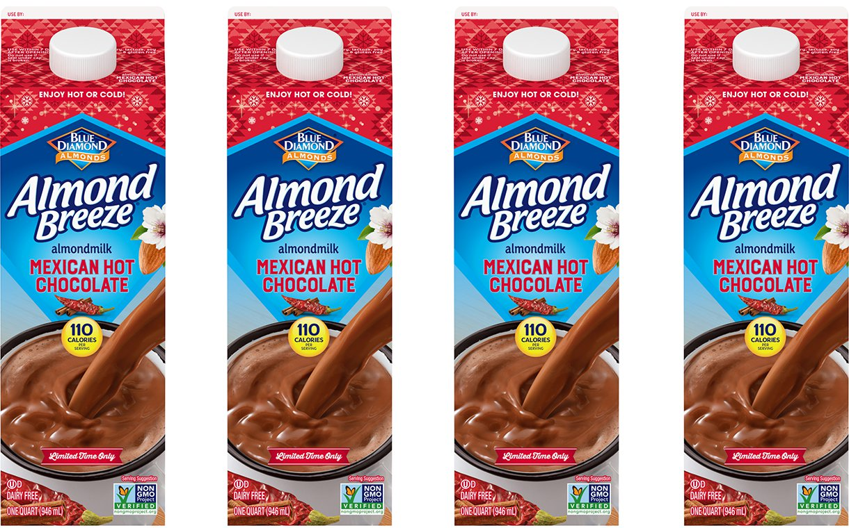 Blue Diamond Launches Almond Breeze Mexican Hot Chocolate photo