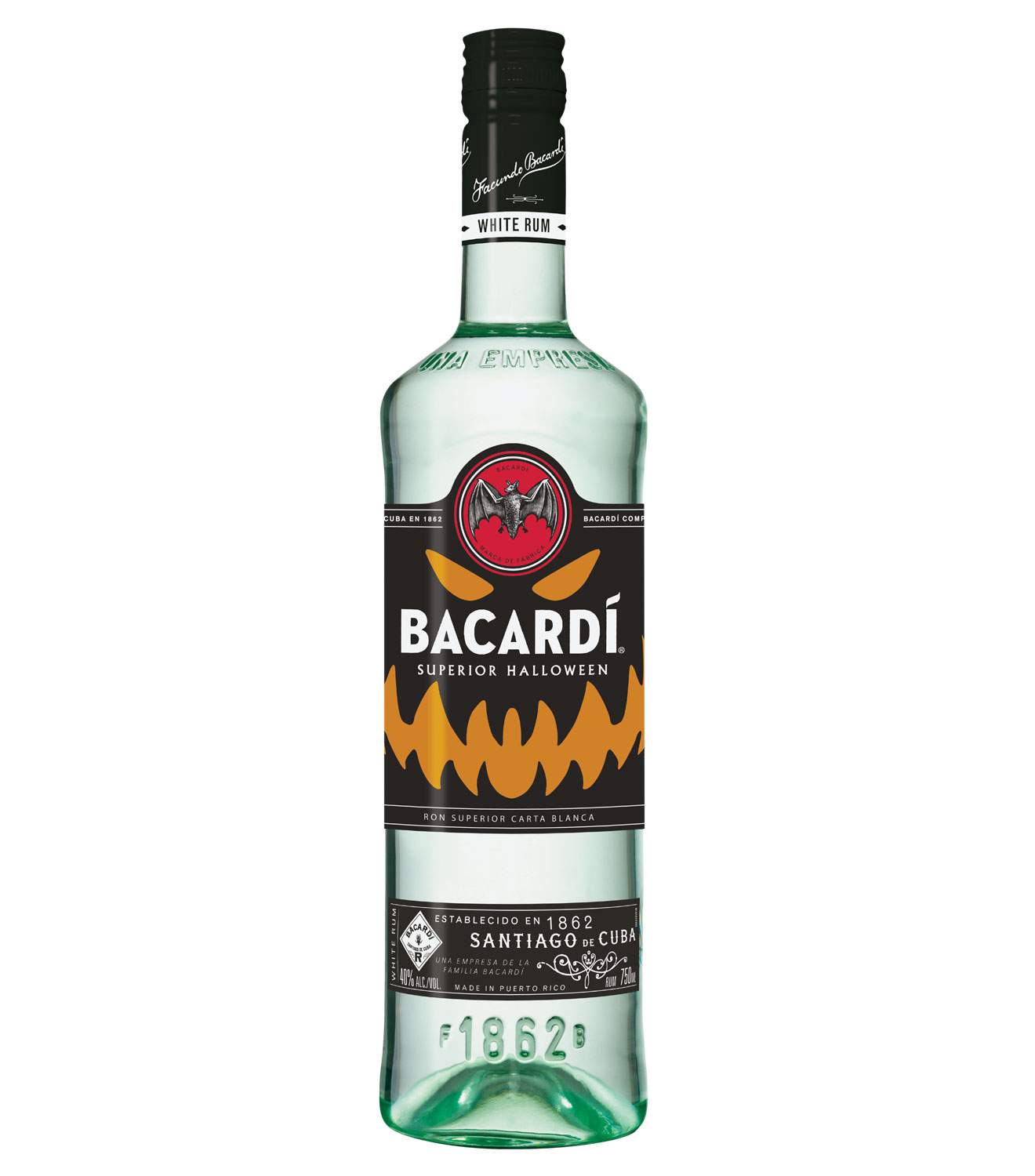 BAC Superior LTO 750ml Bacardi Scares The Bejesus Out Of Drinkers With Haunted Rum Prank