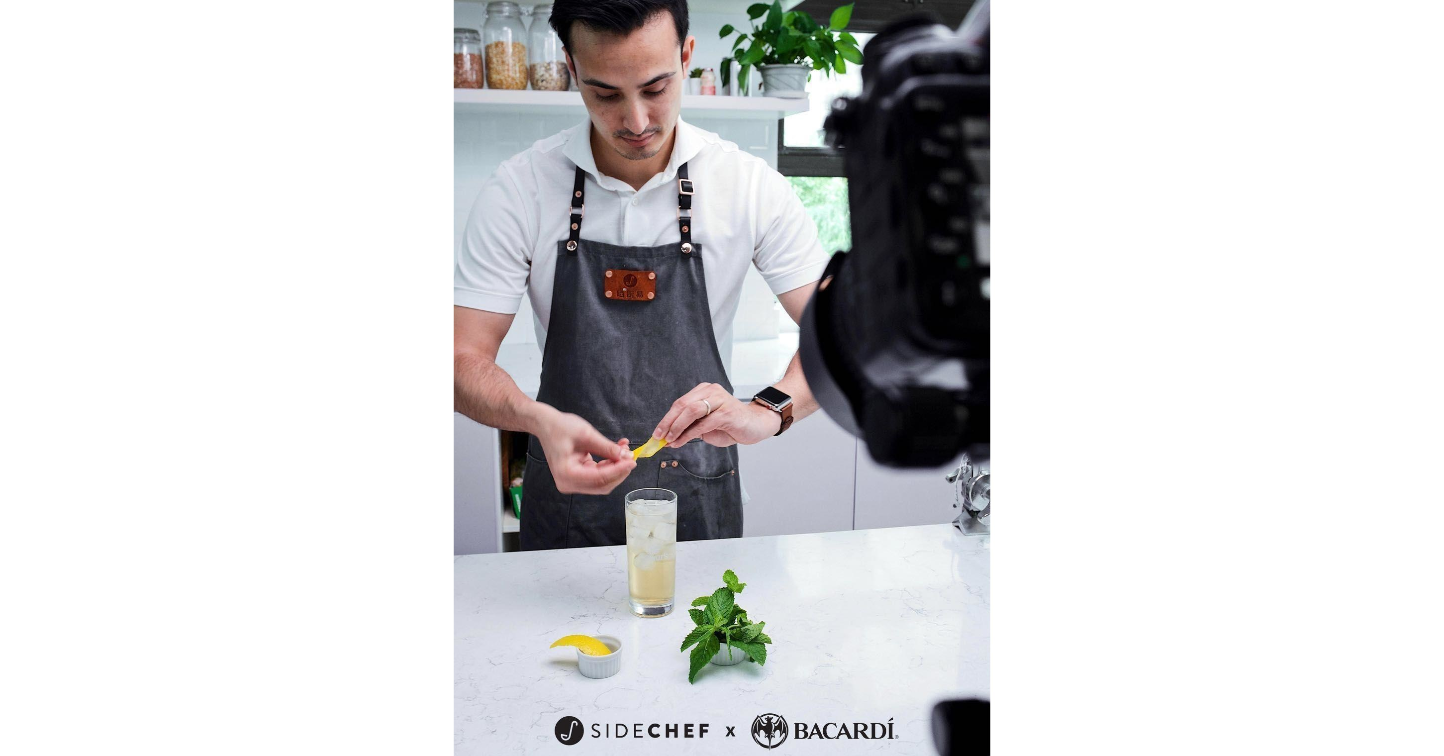 Sidechef Collaborates With Bacardi To Bring Portfolio Of Brands To Amazon's Cook With Alexa, Revolutionizing The Future Of Home Mixology photo