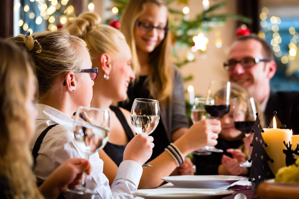 Experience The Best Family Christmas Eve Dinner at Benguela Cove photo