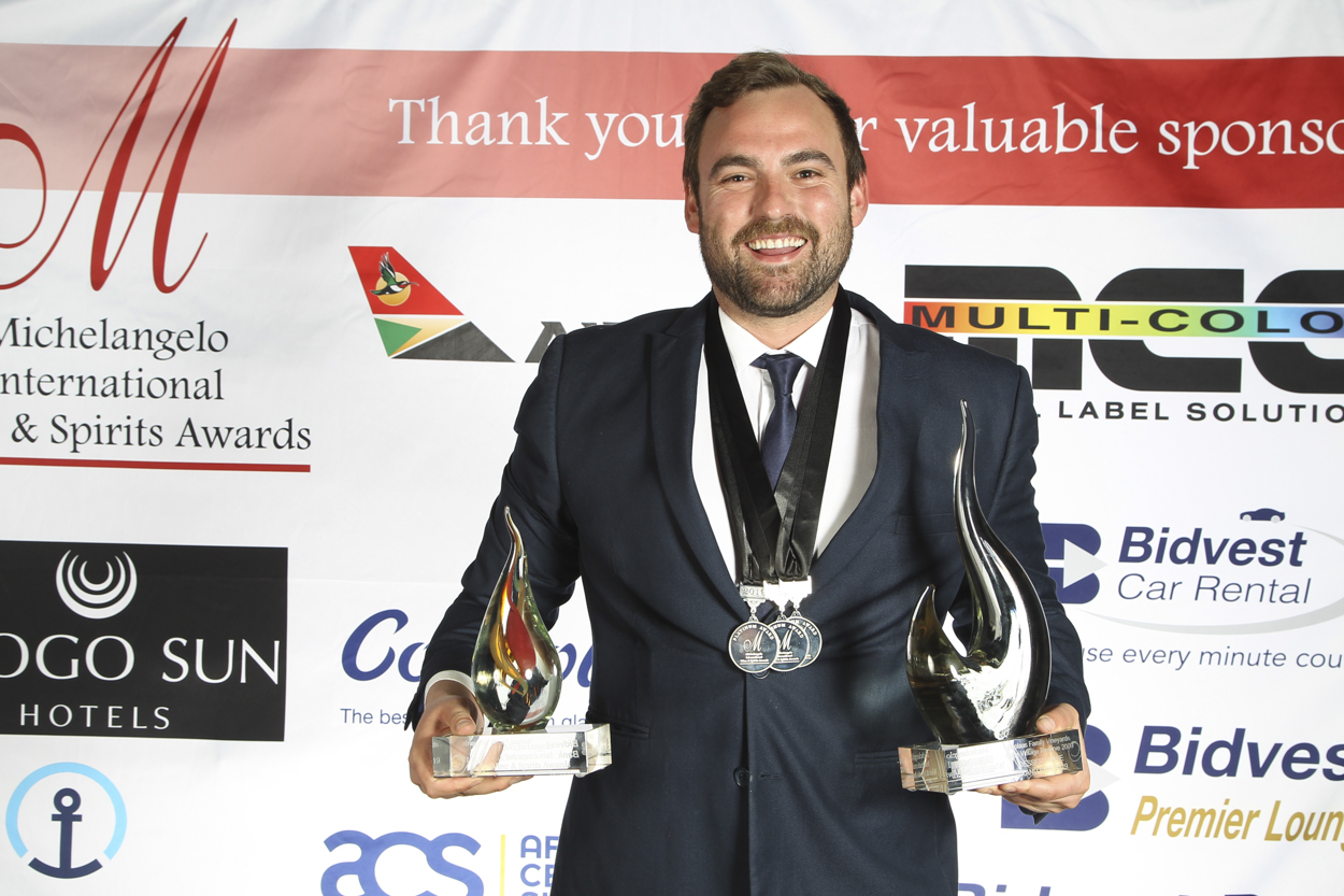 Groot Constantia and Boplaas Glitter at Michelangelo Wine & Spirits Awards photo