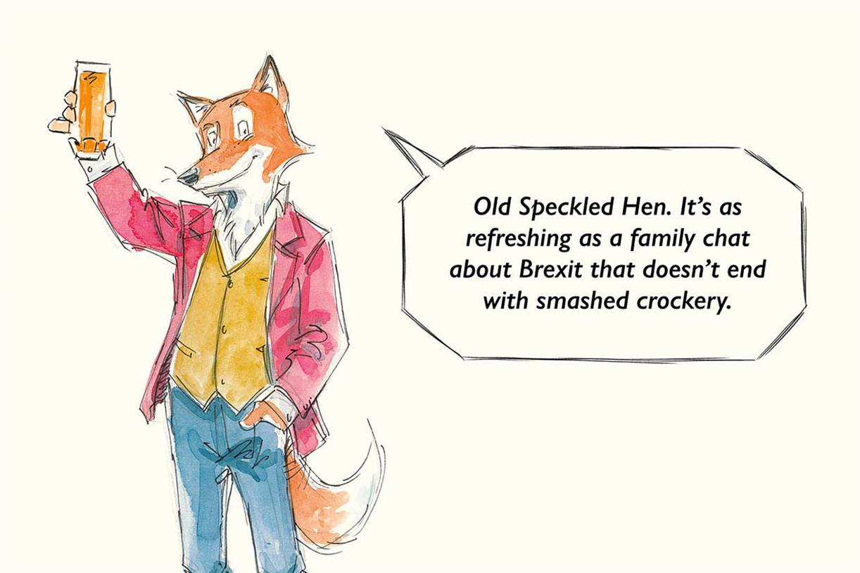 """Old Speckled Hen """"drink Curious"""" By Isobel photo"""