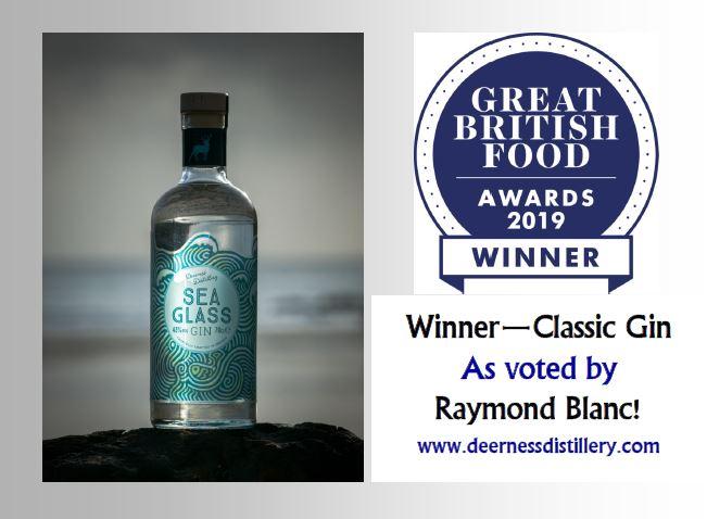 Sea Glass Gin Wins At Great British Food Awards 2019 photo