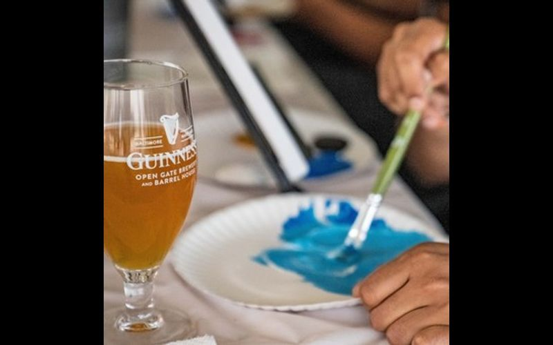 Guinness Us Brewery Is Hosting A Pint And Paint Night And It Sounds Delightful photo