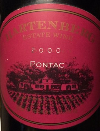 Sa Wine History: That Beautiful Vine, That Remarkable Grape, Pontac photo