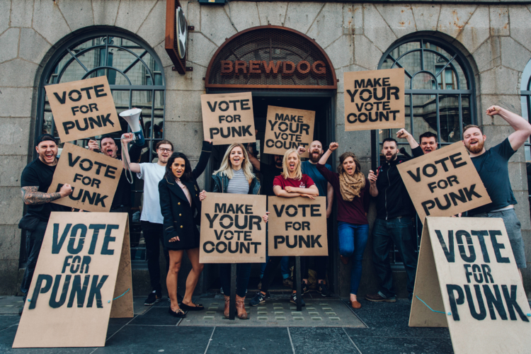 Brewdog To Offer Free Pints To Voters Again photo