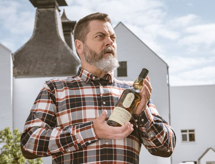 Parks and Recreation Star Launches His Own Lagavulin Scotch Whisky photo