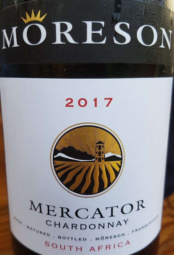 Môreson Mercator Chardonnay 2017 photo