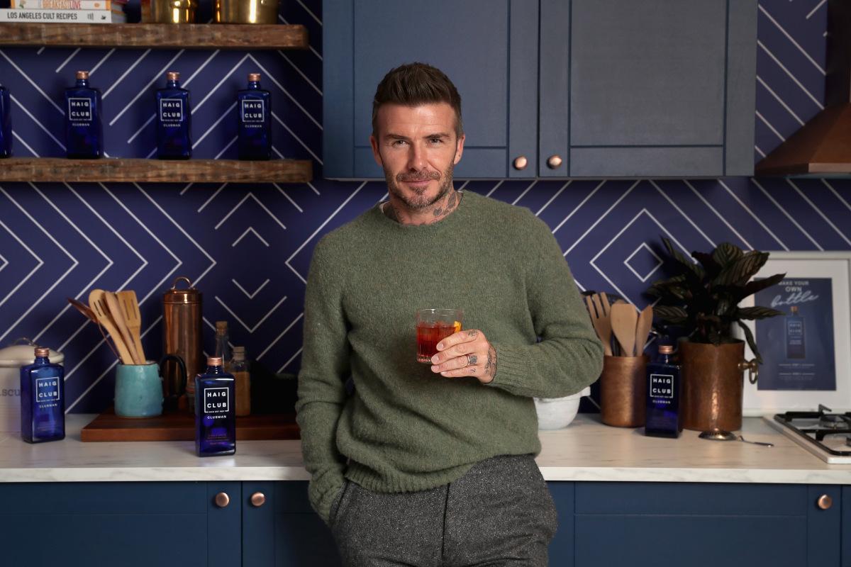 David Beckham Hails Scotland As He Visits Haig Club Whisky Distillery In Fife photo