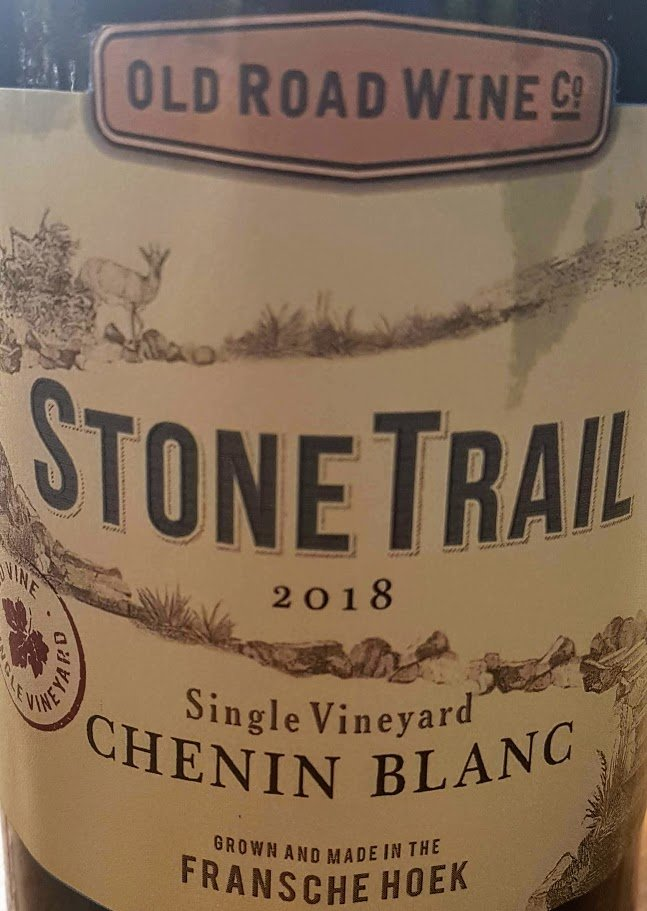 Old Road Wine Co. Stone Trail Single Vineyard Chenin Blanc 2018 photo
