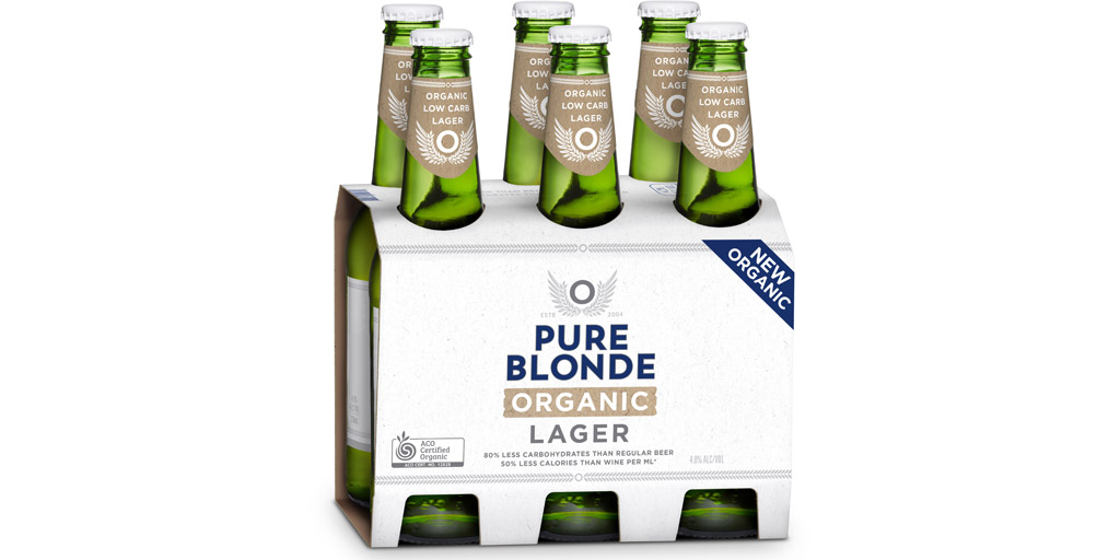 Pure Blonde Goes Organic With Transparency Campaign photo