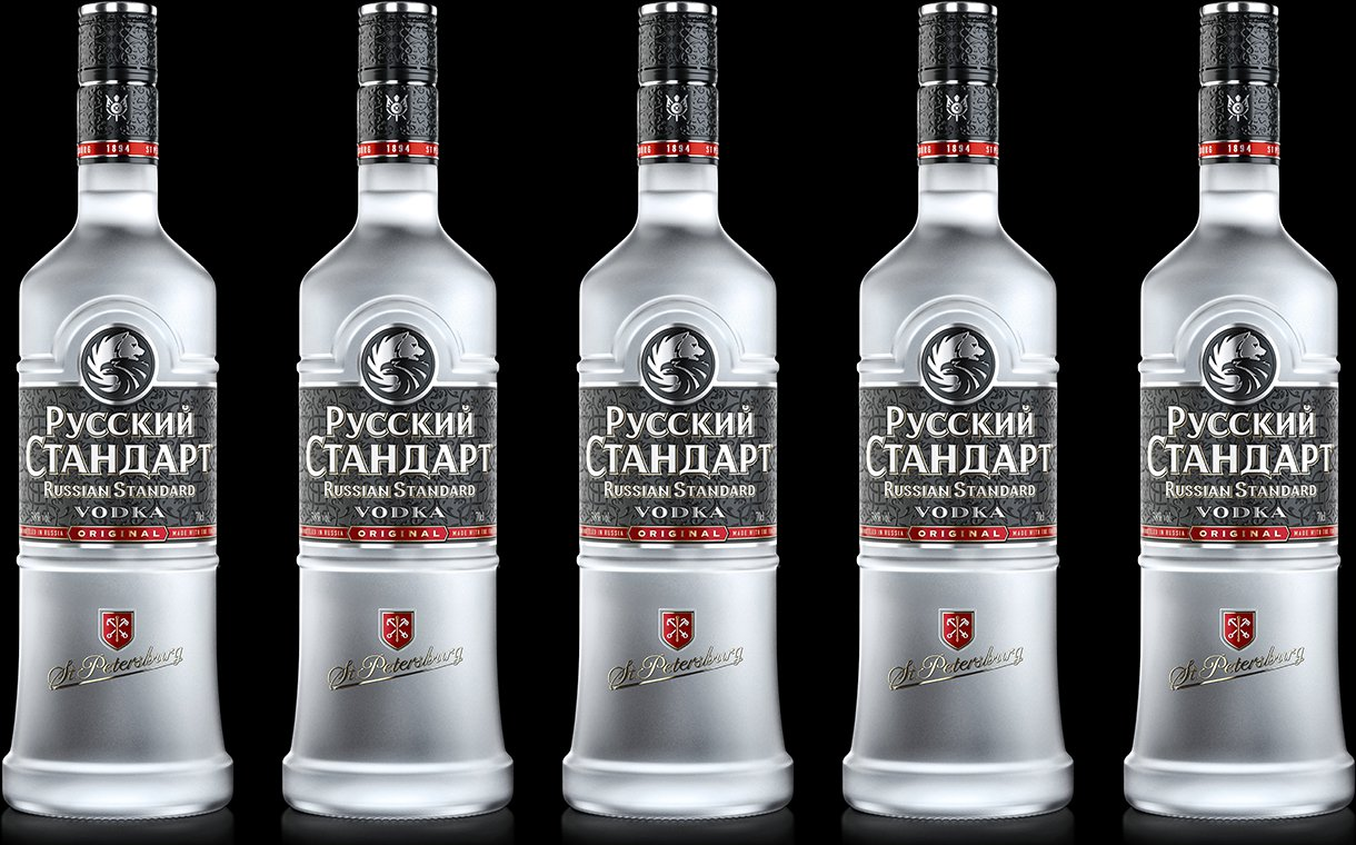 Russian Standard Vodka Updates Bottles With ?minimalist? Design photo