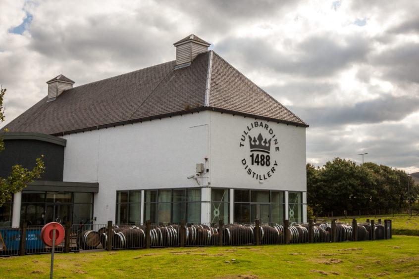 Turnover Up At One Of Scotland?s Oldest Whisky Distilleries Tullibardine photo
