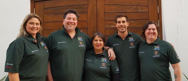 Nederburg's Team SA Optimistic About Chances In International Wine Tasting Event photo