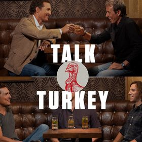 Mcconaughey And Wild Turkey Launch Interview Series photo