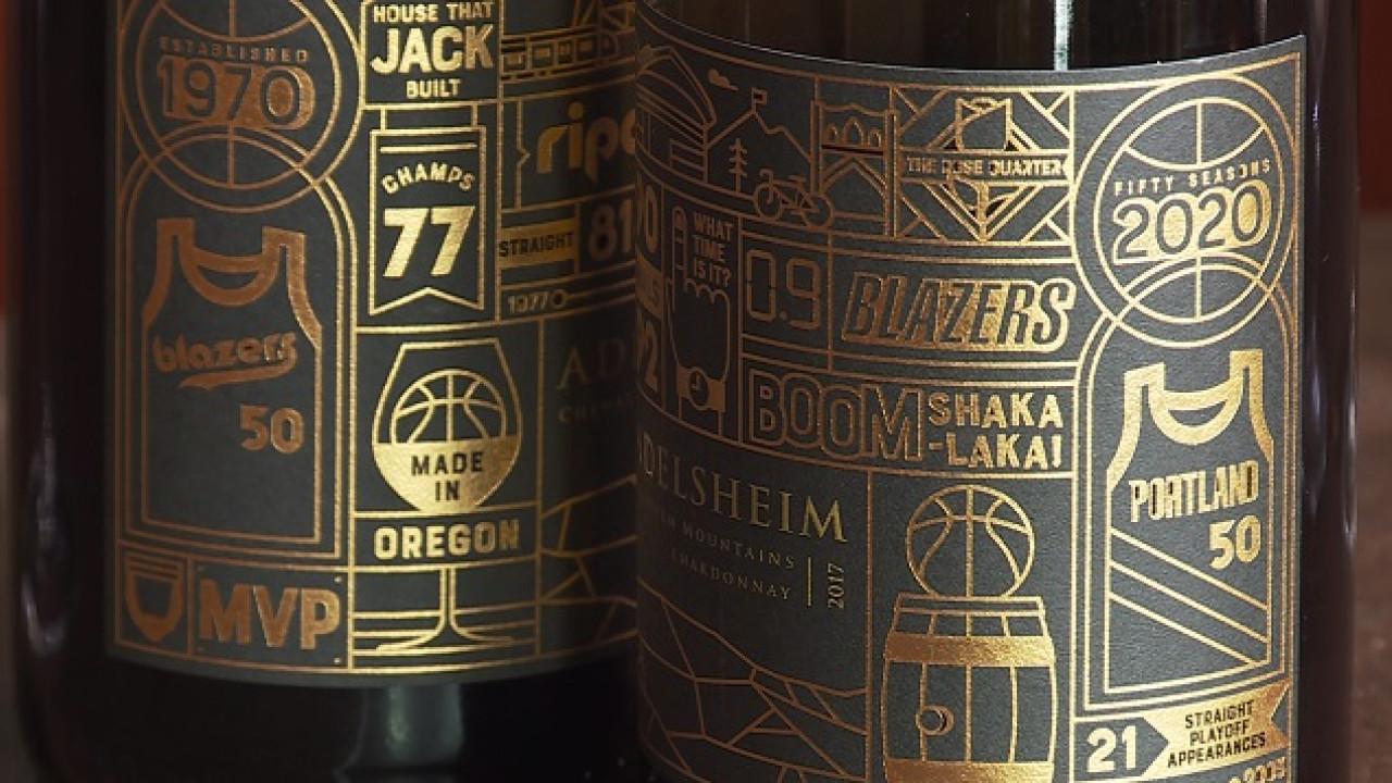 Sip, Sip Hooray: Winery Commemorates Blazers? 50th photo