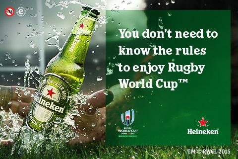 Win A Chance To Enjoy The Rugby World Cup Final With #teamheineken photo