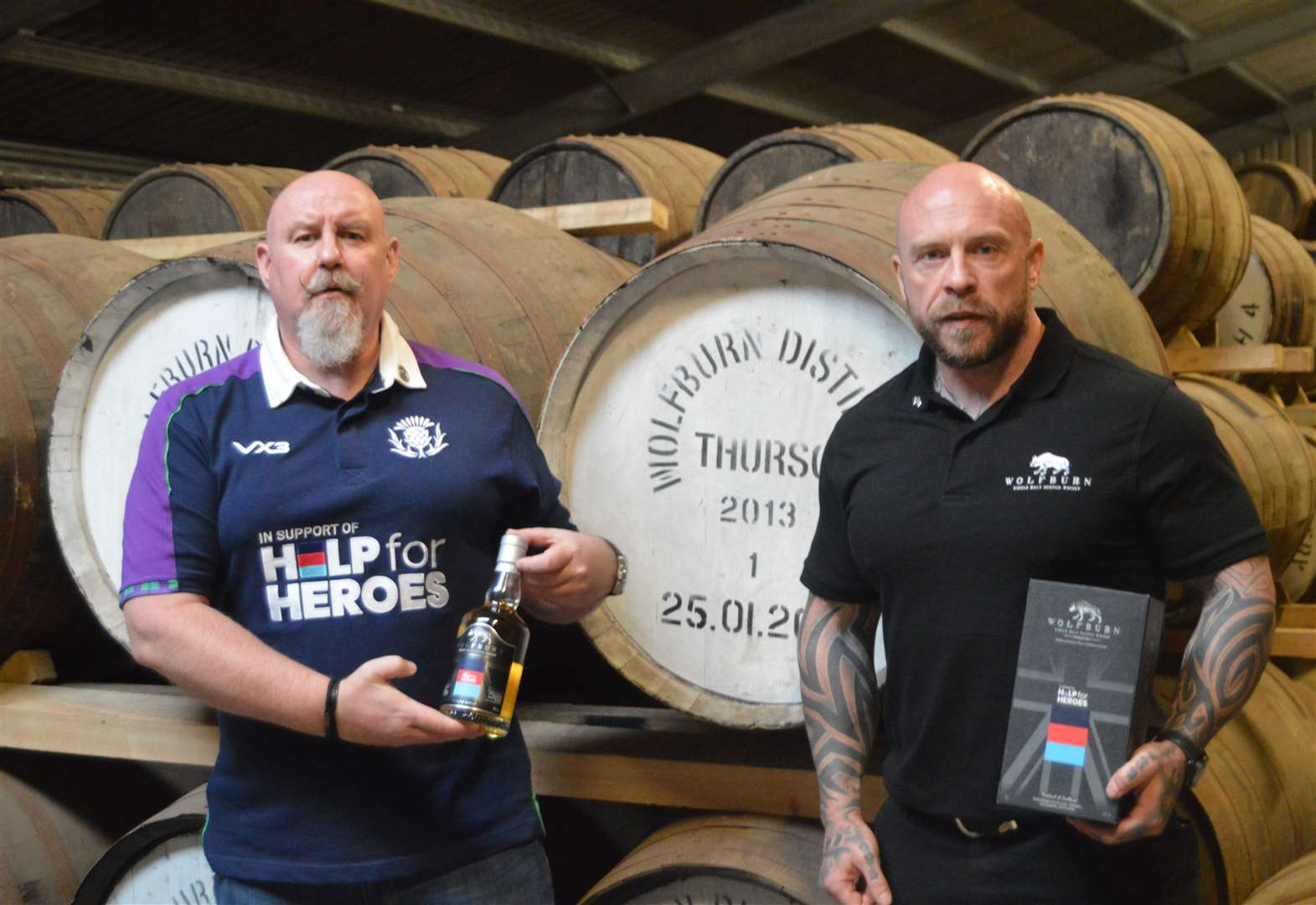 Para-athlete Micky Yule Backs Wolfburn's Help For Heroes Whisky Fundraiser photo