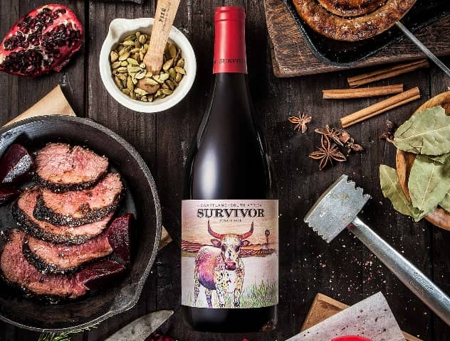 Savour Two National Treasures With Survivor Absa Top 10 Pinotage & Biltong photo