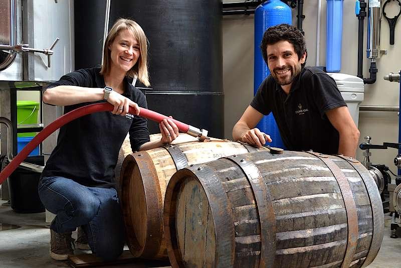 Cooper King Distillery Fills First Casks photo