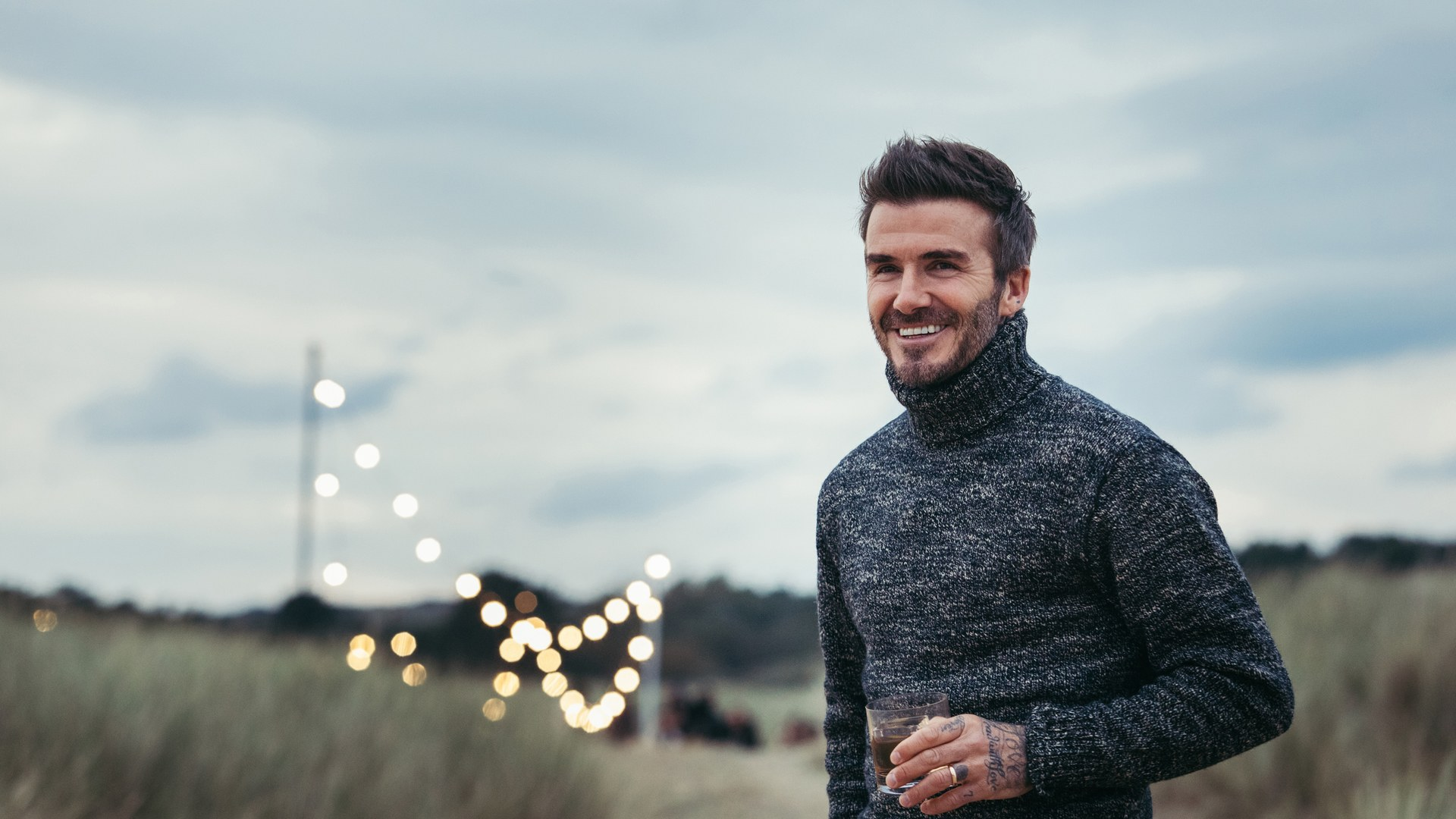 An Exclusive Look At David Beckham's Trip To Scotland photo