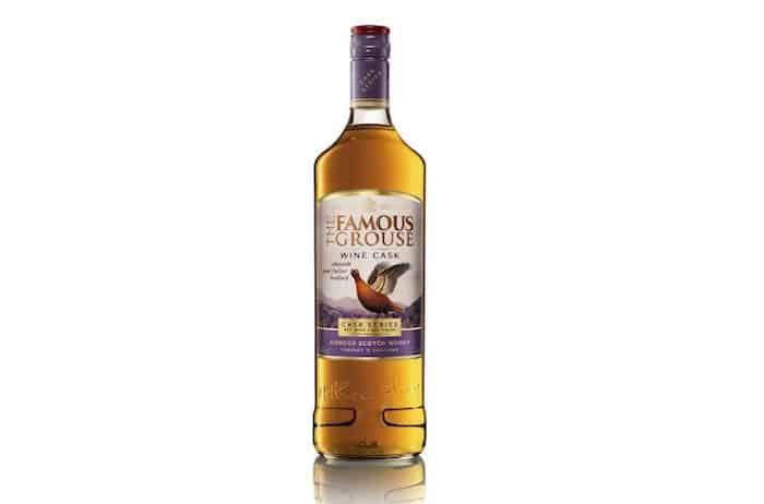Famous Grouse Announces Wine Cask Blended Scotch photo