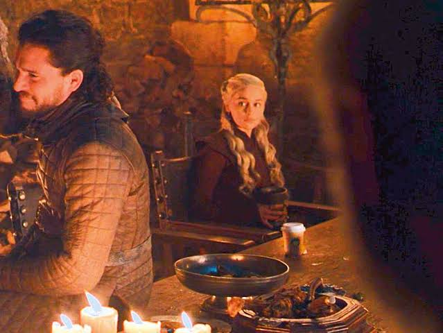 Khaleesi Spills The Beans On The Infamous 'Game of Thrones' Starbucks Coffee Scene photo