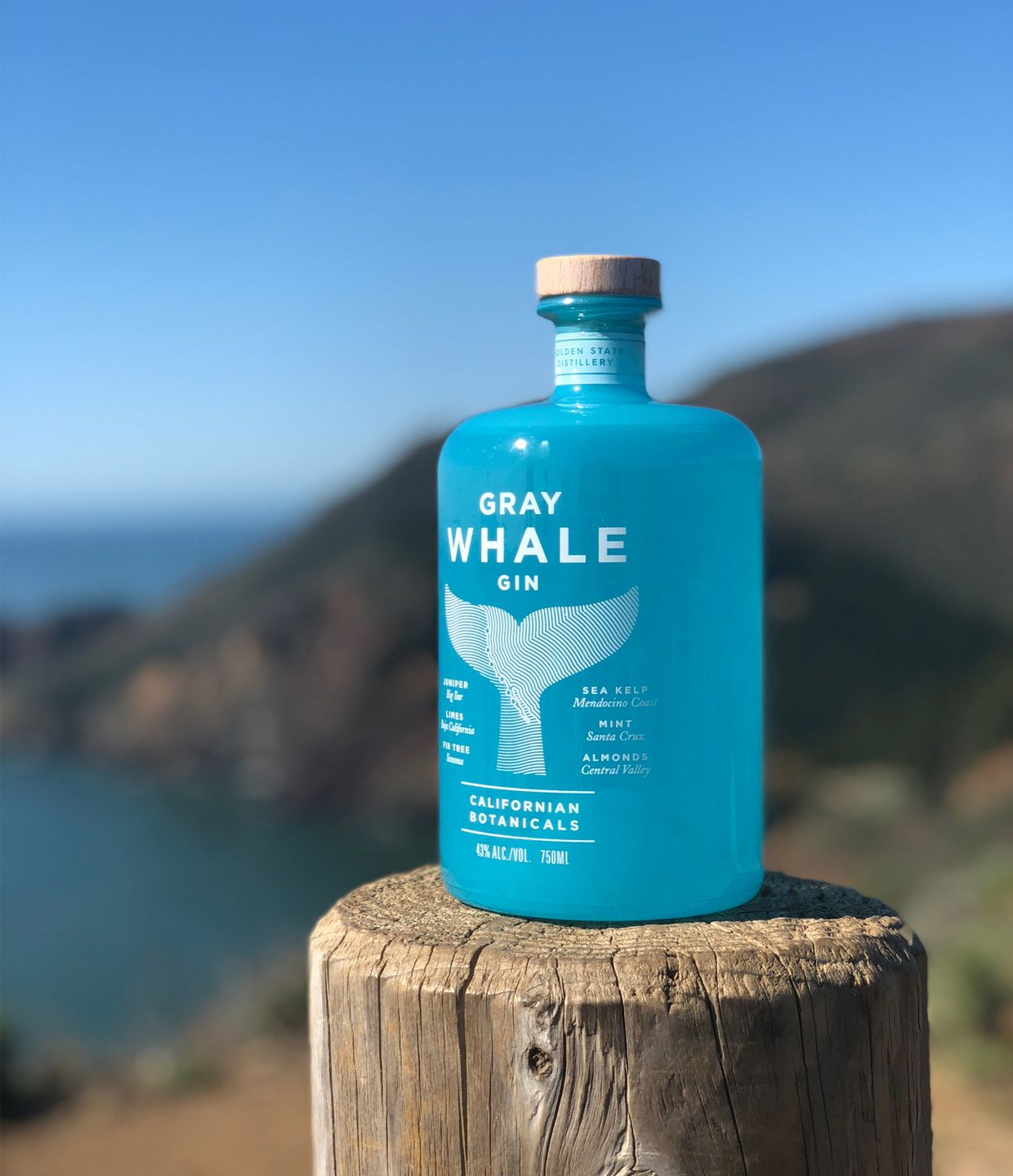 gray whale gin Spirits and Wine Brands That Are Protecting Endangered Species Across the World