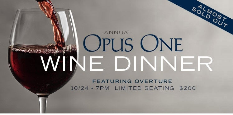 Opus One Wine Dinner photo